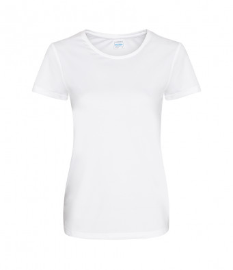 ladies cool smooth t shirt arctic white