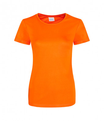 ladies cool smooth t shirt elec orange