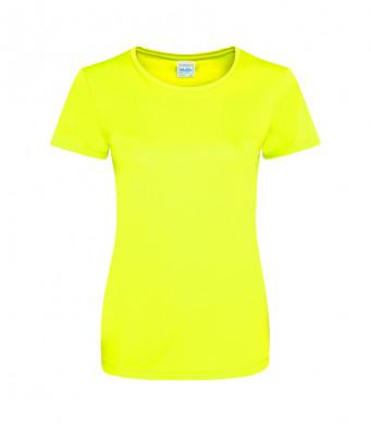 ladies cool smooth t shirt elec yellow