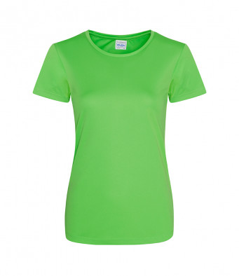 ladies cool smooth t shirt lime
