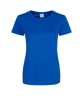 ladies cool smooth t shirt royal blue