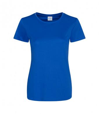 ladies cool smooth t shirt royal blue