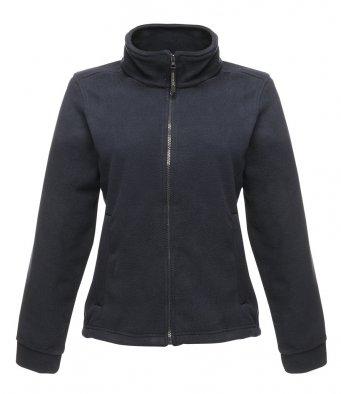 ladies dark navy fleece jacket