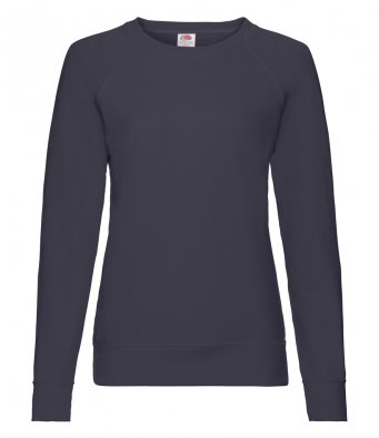 ladies deep navy sweatshirt