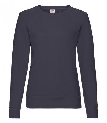 ladies deep navy sweatshirt