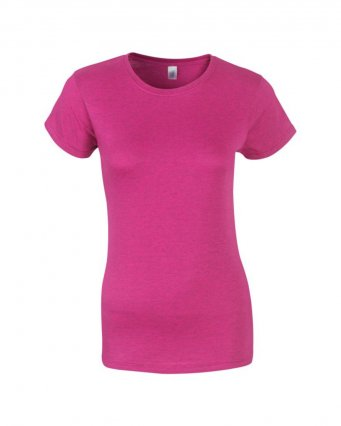 ladies fitted t shirt antique heliconia