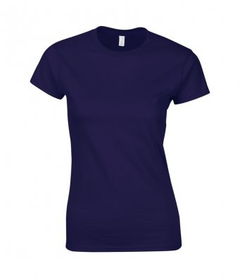 ladies fitted t shirt cobalt