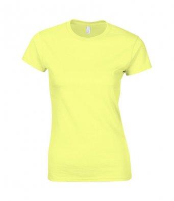 ladies fitted t shirt cornsilk