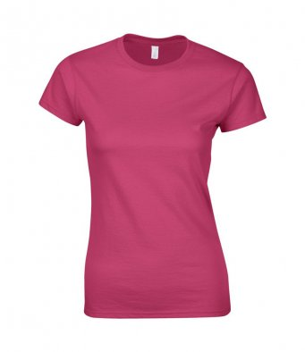 ladies fitted t shirt heliconia