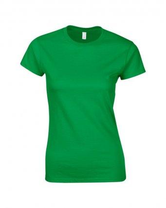 ladies fitted t shirt irish green