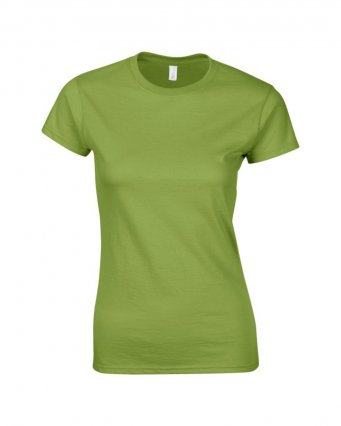 ladies fitted t shirt kiwi