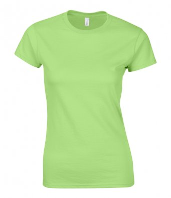 ladies fitted t shirt mint