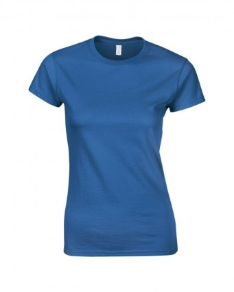 ladies fitted t shirt royal