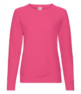 ladies fuchsia sweatshirt