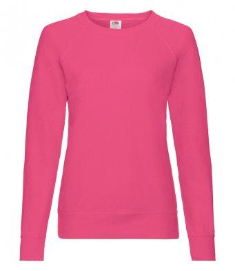 ladies fuchsia sweatshirt