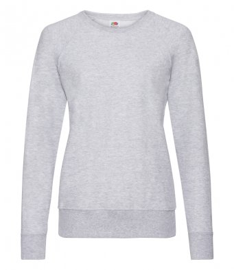 ladies heather grey sweatshirt