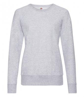 ladies heather grey sweatshirt