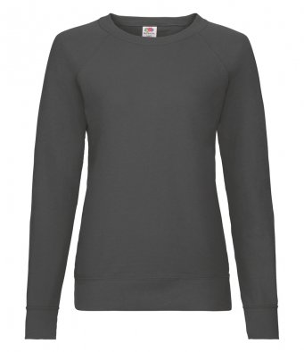ladies light graphite sweatshirt