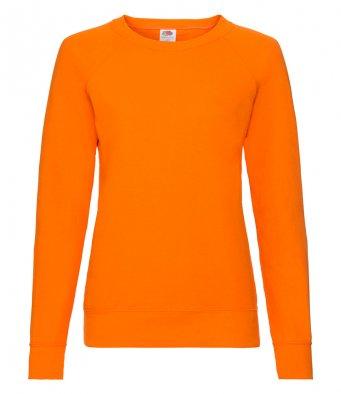 ladies orange sweatshirt