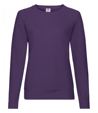 ladies purple sweatshirt