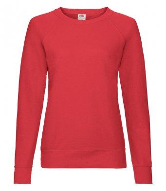 ladies red sweatshirt