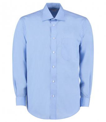 light blue long sleeve business shirt