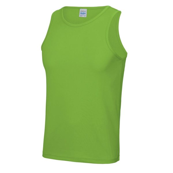 lime green sports vest