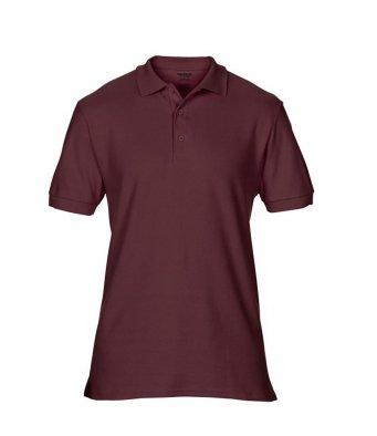 maroon premium cotton polo shirt