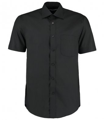 mens black short sleeve work shirt