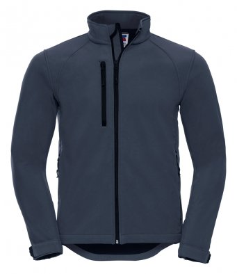 mens classic softshell french navy jacket