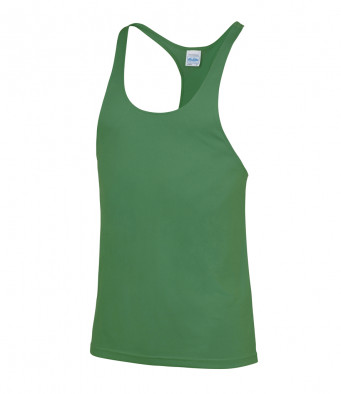 muscle vest kelly green
