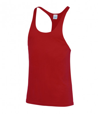 muscle vest red