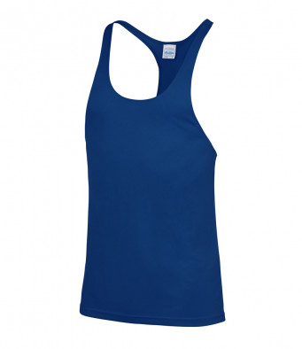 muscle vest royal blue