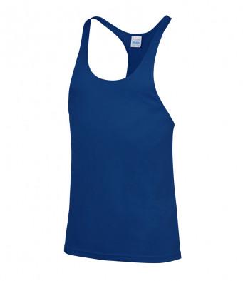 muscle vest royal blue