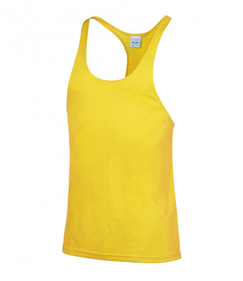muscle vest sun yellow