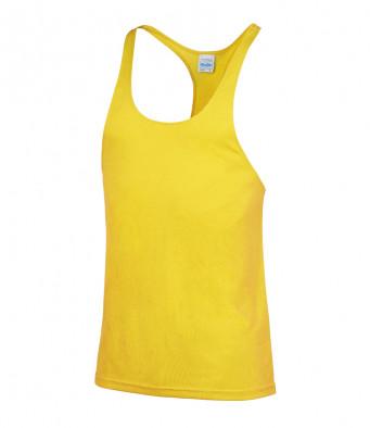 muscle vest sun yellow