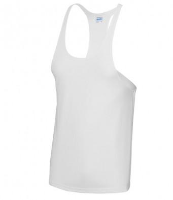 muscle vest white