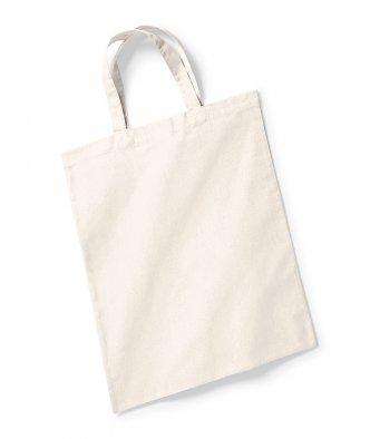 natural bag short handles