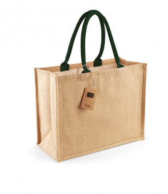 natural forest jute shopping bag