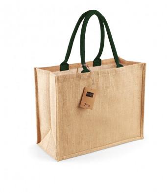 natural forest jute shopping bag