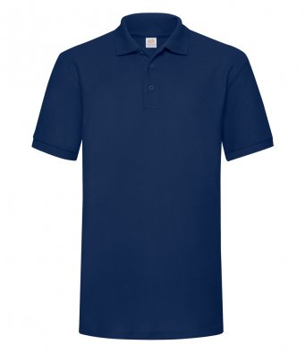 navy heavy duty polo shirt
