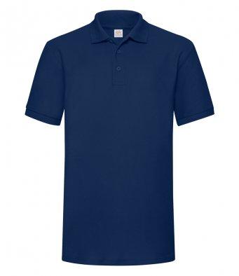 navy heavy duty polo shirt