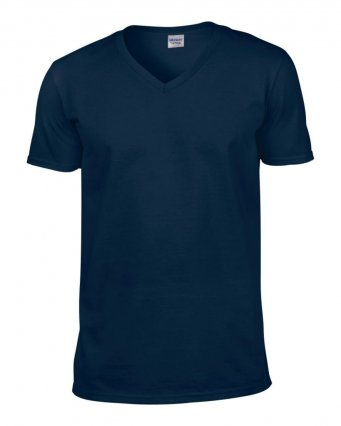 navy v neck t shirt