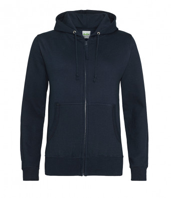 new french navy ladies hoodie