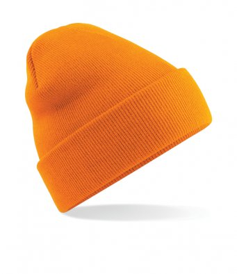orange cuffed beanie