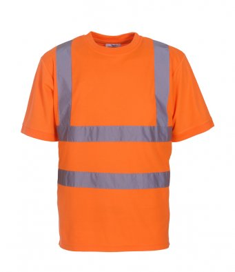 orange hi vis t shirt