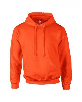 orange premium overhead hoodie