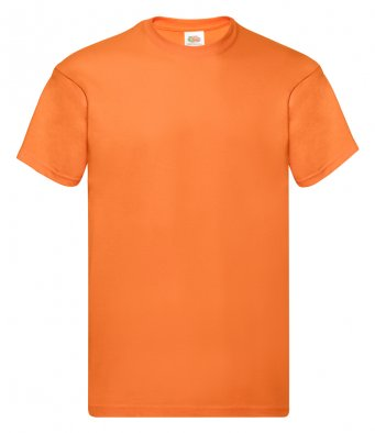 orange promotional t shirt