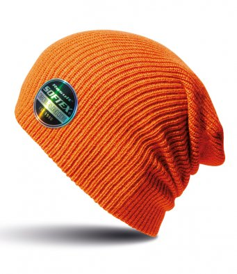 orange softex beanie
