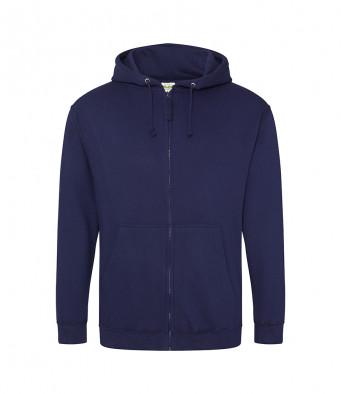 oxford navy zipped hoodie